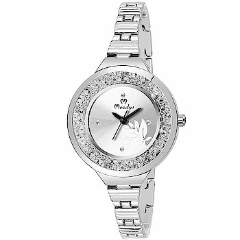 Moodys Analogue Silver Dial Women's Watch - 3102-SL  Dial Color: Silver, Case Shape: Round, Dial Glass Material: Glass Band Color : Silver, Band Material : Stainless Steel Case Material: Metal, Case Diameter: 34 mm Suitable for Party,Wedding, Formal and Casual Occasions 1 Year Moodys Waranty  uy Now:- Sale Price:-349.00  Here are very elegant and stylish watch for women from the online store Moodys Fashion You can purchase now and just click on the given links  https://www.amazon.in/dp/B07PP9XH1B?ref=myi_title_dp #wrist-watch #watch  #watching  #gorgeous-wrist-watch #giftideas  #giftitem #designeraccessories #accesories #womenaccesories  #womenswear