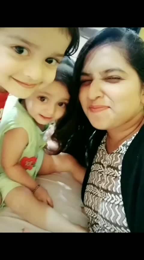 Babies 😘 #cute-baby #marathisong #girls