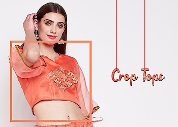 Crop tops!  https://bit.ly/2p38xFJ  #9rasa #colors #studiorasa #ethnicwear #ethniclook #fusionfashion #online #fashion #like #comment #share #followus #like4like #likeforcomment #like4comment #newarrivals #ss19collection #ss19 #croptop