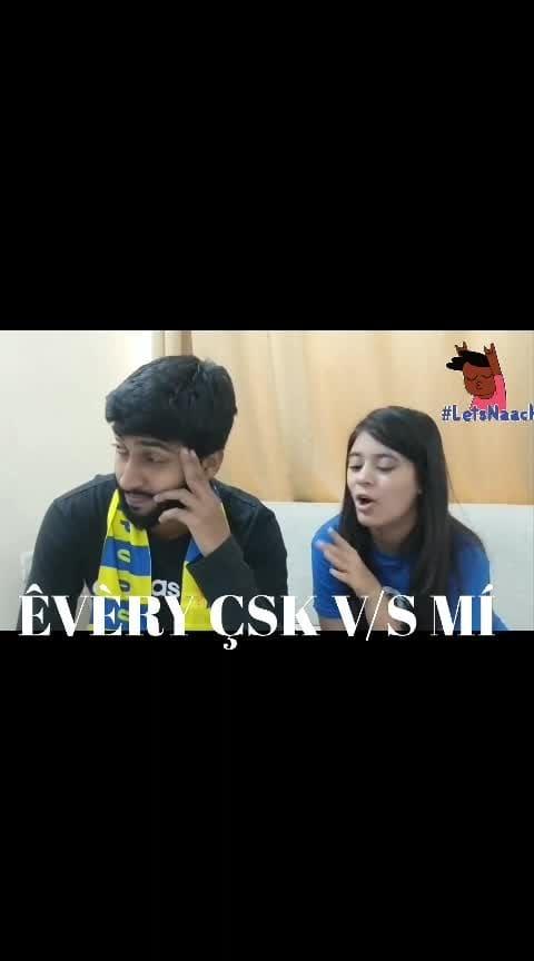 AFTER QUALIFIER 1 EVERY CSK AND MI FANS... 😘😘♥♥ #msdhoni7  #csk #mahi #mumbai_indiansteam2019 #rohitsharma #csk_fan2019squad #mi_fan #thala_dhoni