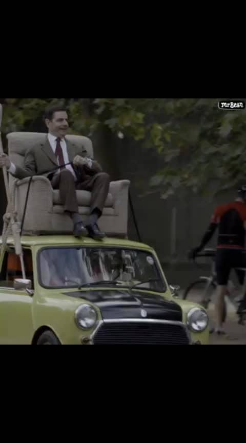 #car driving skills of mr bean