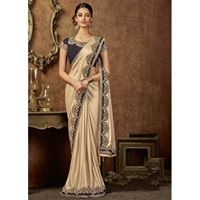 Take a Traditional Dressing to a New Re-defined level of opulence with this Mesmerizing Beige & Royal Blue Party Wear Embroidered Saree Embellished with Cord and Sequence Embroidery. Saree Fabric is Shimmer Lycra and Blouse Fabric is Velvet.  The Traditional Galore !  Its #contemporary, it's #ancient, it's #new, it's #fresh ... it's classic -yes it's a #saree . Find them all exclusively @ www.manndola.com  #beauty #sareesonline #buyonline #buysareeonline #onlineshopping #surat #florida #sanfrancisco #mumbai #India #arizona #unitedstates #usa #uk #freeshippinginindia #canada #mauritius #saudiarabia #australia #london #indiandrapes #expressshipping #fastdelivery #readytoship #manndola