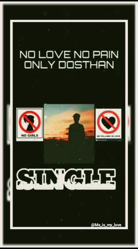 #nolove #nopain #single #dofollowme
