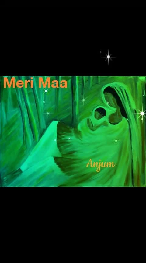 #merimaamerijannat #merimaamerizindagi  on request @errahul    Saari raat ye pehra karein Keh doon chaand taaron ko Chaoro chaoro icha paari chaoro Chaaoro chaoro icha paari chaoro  They would watch you all night, I'll tell the moon and the stars. Grow up, Grow up, Grow up my son. Grow up, Grow up, Grow up my son..