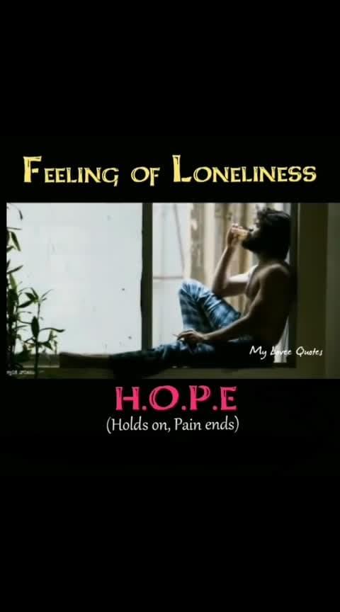 #aloneness #vijayadevarakonda