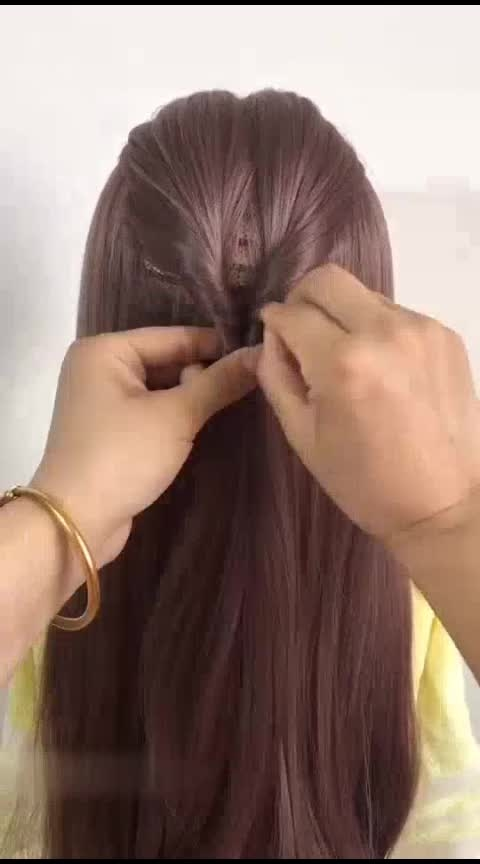 #hairstyle #hairstyleing #hair-do beautiful girls must watch
