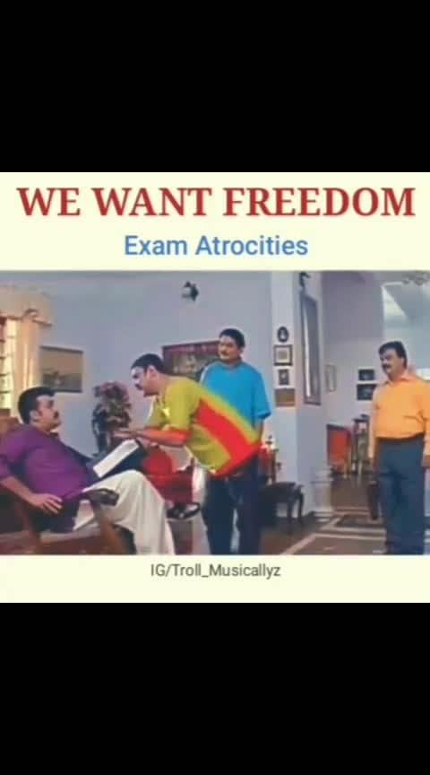 we want freedom 😋😋 . . 😋😋😋😋😋😋😋😋😋😋😋😋😋😋😋😋😋😋😋😋😋😋😋😋  #exams  #funnydialogue  #funnyvideos  #malayalamtrolls  #malayalamactor  #tamilvideosong  #tamilmemes  #tamilcomedies  #dubsmashtamilfun  #mallureposts #scenery  #variety  #southindianbride  #keralaboys #keralafreaks #backbenchers  #trendingtrolls #trendingtrolls #trendingnow  #love  @troll_company_official @troll__adholokam @troll_cinemas @trollgarageofficial @malayalamtrollmasters #lovemalayalam  #goodvibes  #black  #exam-funny  #malayalammemes #kajalagarwal  #dileep  #mohanlal  #followme  #followbackinstantly #malayalamdialogue  #malayalamcinema