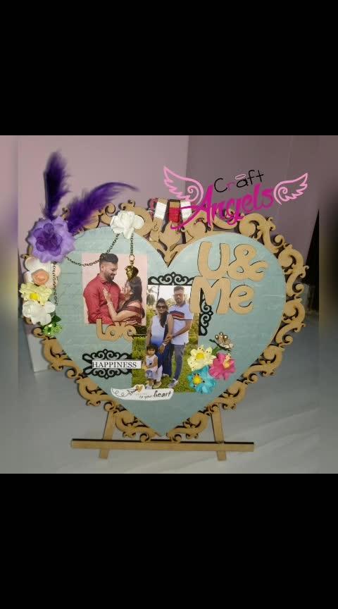 Order work   Dm for order   #gift #love #gift #handcrafted #handmade #heart #craft #giftforher #anniversarygift #birthdaygift #uniquedesign #heartshape