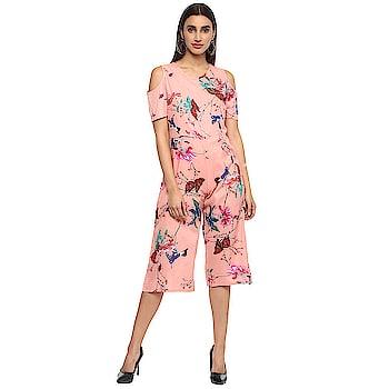 Floral Print Women Jumpsuit  https://bit.ly/2W0Tf2S