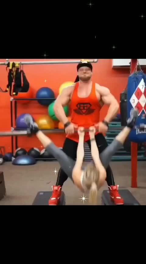 #world best gymnast!!😘😱😱#gymnast #heavyweight #girls-masti #fit #fitnesstrainer #trainer #gymboy #bodybuilding #gabru