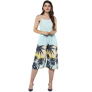 Floral Print Women Jumpsuit  https://bit.ly/2Ziwnhc