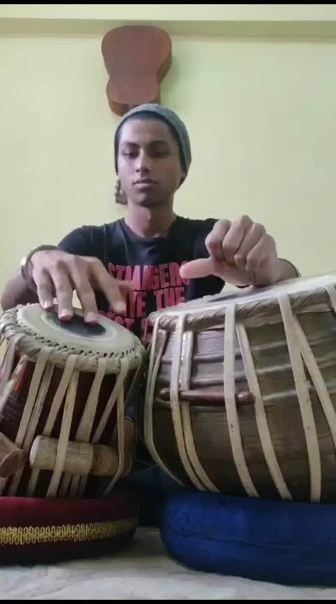 Girls Like you - Maroon 5  #tabla #cover #viral #india #song #roposo