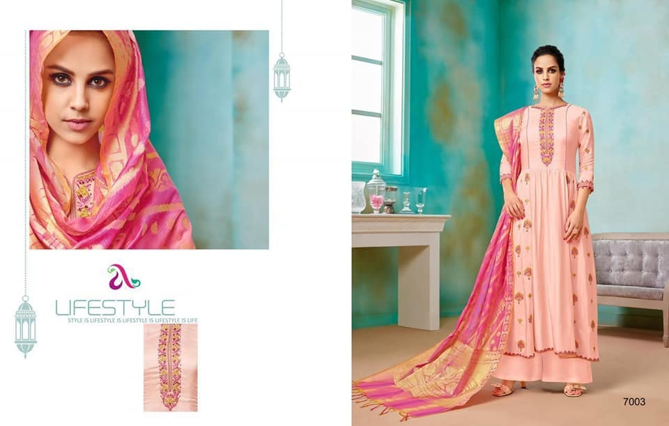 MAHIKAA COLLECTIONS LAUNCHES online selling of WOMEN FABRICS. Please click on picture or our online link below or BUY DIRECTLY FROM US USING PAYTM / BANK TRANSFER CONNECT WITH US AT info@mahikaa.in or WhatsApp : 7984456745  Pure viscose upada silk (Embroidery work front and back ,khatli work) (Semistiched) Top-pure viscoss upada silk kali style dupatta- orignal banarasi jacquard Lower fabric- santoon Price : 2599 Inr +$ #business #innovation #sales #health #fintech #amazon #mondaymotivation #wellness #news #engineering #banking #newyork #smartcities #gifts #credit #fridayfeeling #r #emotionalintelligence #protection #cash #engineers #publishing #electronics #reviews #writers #howto #contest #festive