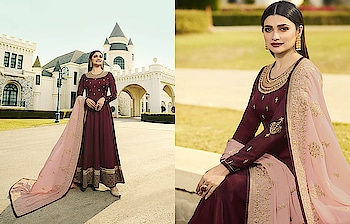 Flaunt Your Rich And Elegant Taste Wearing This Heavy Designer Floor Length Suits ♥ Price:- 4020/- For Order What-app us (+91) 8097909000 For More Similar visit 👉 https://bit.ly/2XhlRVL * * * * #salwar #salwarsuits #bollywood #prachidesai #celeb #bollywooddress #floorlenght #dress #anarkalisuits #frontslitsuits #indowestrensuits #dresses #longsuits #suitsonline #embroidered #onlinefloralsuit #floral #fashion #designer #partywear #exclusive