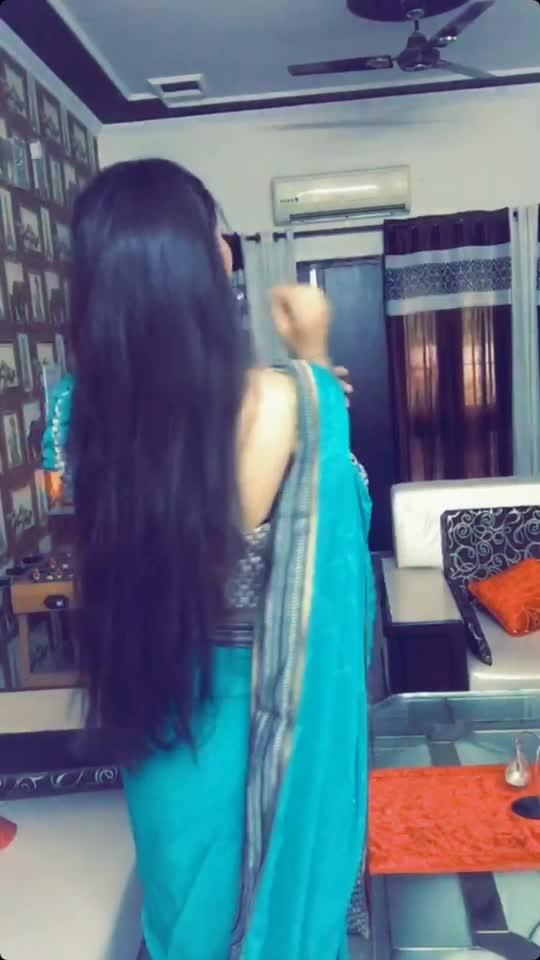 🦋💙 blue saree #beats#filmistaan#comedyindia#roposo
