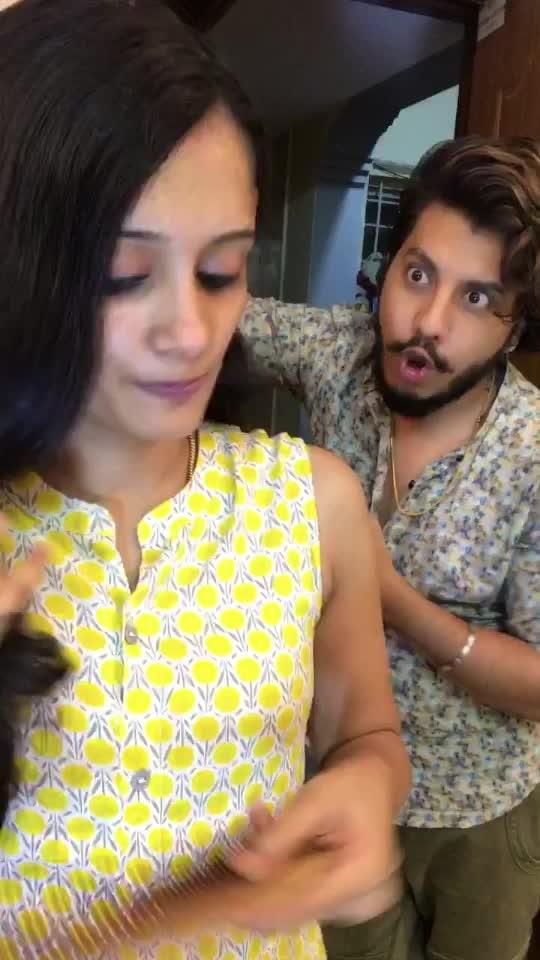 അച്ചനുഡോ ?????? കല്ലിപെണ്ണ് #malayalam #malayalamcomedy #risingstar #roposo #couple #roposo-mallu