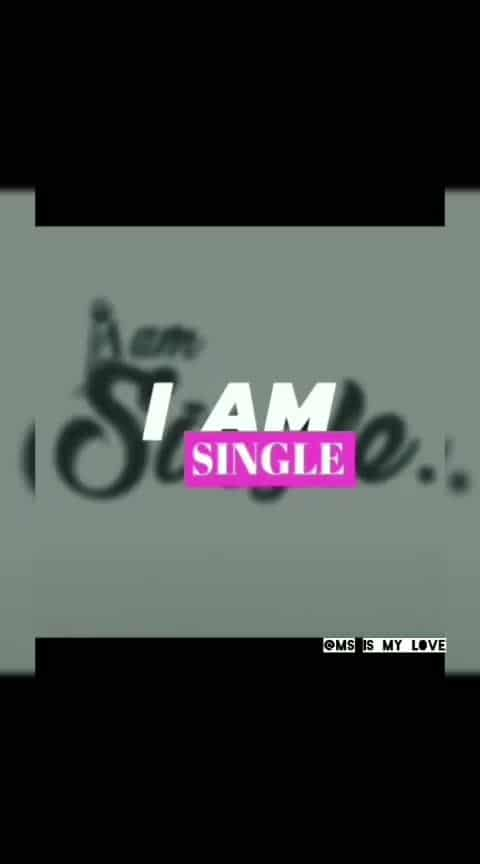 #iamsingle #behappy #nolove 💓#nopain 💔