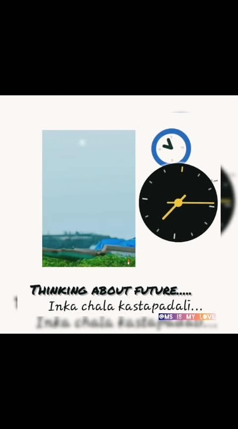 #thinkingaboutfuture........ #dofollowme