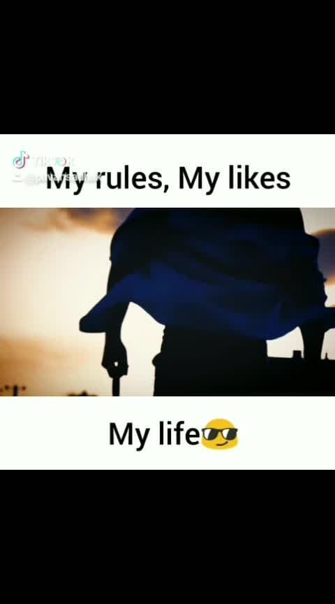 #roposo-share #lifestylepost #sadhak #attitudestatusforwhatsappandfb