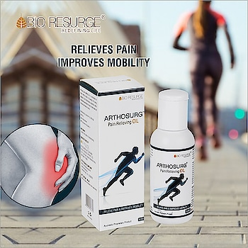 Find assured relief in pain related to arthritis, injury, muscle pull and soreness and chronic pains with a single time usage. Made from pure ayurvedic ingredients like harshrigar, laung, ajwain and karpoor, this pain oil is easy to use and guaranteed to provide relief in body pain. Shop Now : https://bit.ly/308Kw16 | Amazon, Flipkart, 1mg, eBay, Healthmug.  How to use :  Take sufficient quantity of oil and massage gently on painful joint followed by hot water fomentation, use twice daily.   #bioresurge #chemicalfree #pure #ayurveda #organic #life #healthy #NaturalHealthCare #Mumbai #Delhi #Chennai #Kolkata #UttarPradesh #DigitalHealth #HealthTalk #painreleif #painfreelife  #arthritisreleif #jointpainfree #musclepainreliever