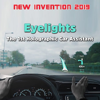 New #Invention 2019  Eyelights -The 1st Holographic #car Assistant  www.waytoonerd.com  #technology #tech #follow #instatech #technews #geek #developer #startup #gadget #dailyfact #didyouknowfacts #quotes #funfacts #amazingfact #like #true #doyouknow #interesting #motivation #awesome #quote #cars #auto #carlifestyle #future