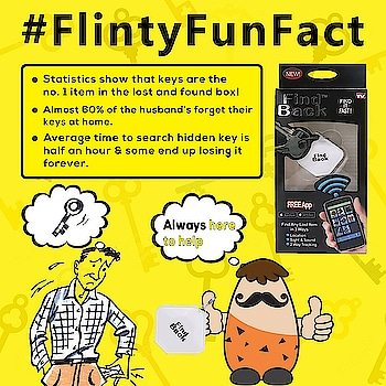 Here's Flinty to help you all with a cool solution for this problem ! with the best product key finder which makes your life easy !!   #easylife #happy #solution #keyfinder #key #lostandfound #simple #better #flintstop #quirky