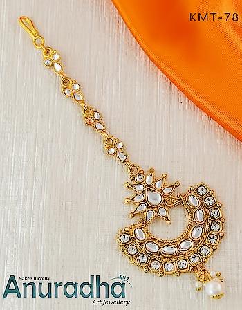 All New Collection Of Traditional Maang Tikka. Get more designs on this link: https://bit.ly/2Hcn3oc . . . . . . . . . . . . . #maangtikka  #traditionalmaangtikka  #newmaangtikka  #onlinemaangtikka  #goldenmaangtikka  #fashionjewellery  #jewellerytrends  #trend  #Newin  #artificialjewellery  #AnuradhaArtJewellery