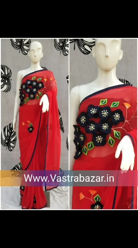 visit to Buy:www.vastrabazar.in whatsapp : 8780130166 Follow us For more collection. . . . . . . . . . . . #saree  #sareeinaustralia  #nari-in-sari  #sareeinnewyork  #sexy-saree  #sarilove  #sarimall  #6yardsofelegance  #sareenavel  #blousedesign  #makeup  #hair-style  #beautytips  #ropofashionblogger