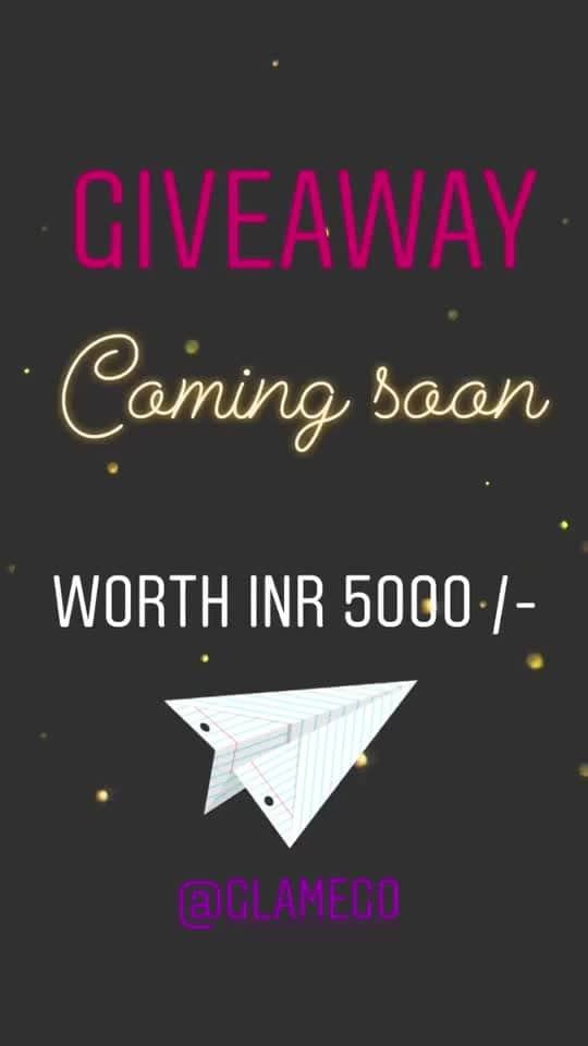 To win the GIVEAWAY of Worth INR 5000 /-  Checkout my Instagram post: www.instagram.com/neharanjan13/