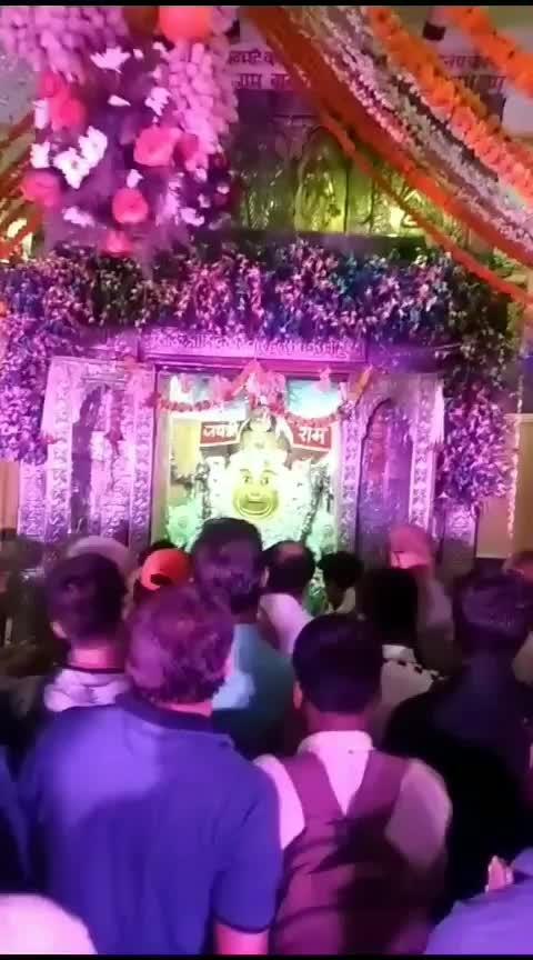 live Hanuman Ji ke darshan🙏🙏🙏🙏#jai_shree_mahankal