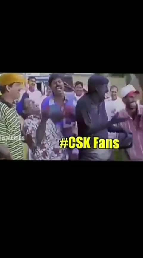 csk supporters like it ....
