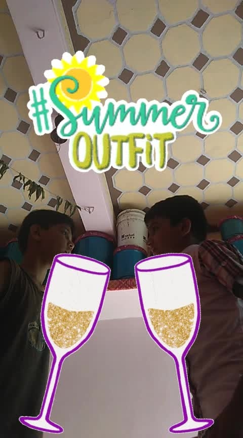 Kailas #summeroutfit #cheers