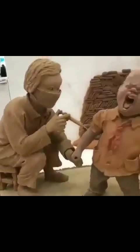 #roposo-video #amazing-art #sculptures #cartoon-art #supervideos  #followme #followforfollow #followmeonroposo #followroposofollow #followformoreposts