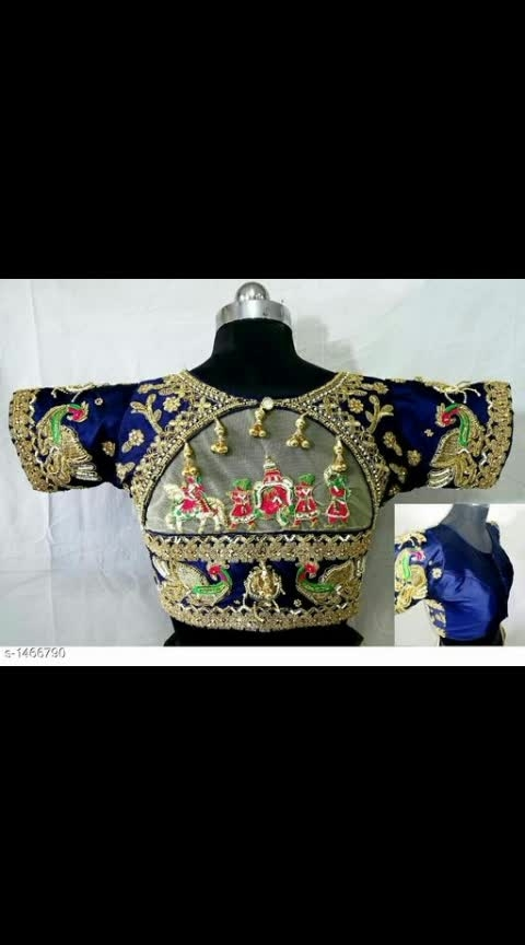#embroidaryblouse #readymadeblouse #wedding-bride #weddingblouse #heavyworkblouses #blousedesign #blousepiece #blouse_styles #blousestyle Cash on delivery is available Return and replacement also available Intrested people can call or wats app to 8367373114