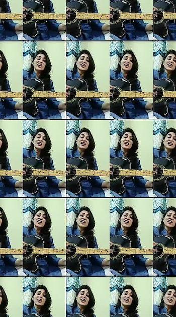 Hawayein❤️❤️ #rop-love #singing #guitarstrings