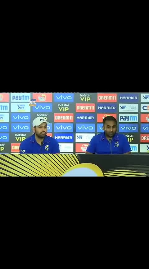 Rohit Sharma tells you why the fixture #MIvCSK, the finalists of #VIVOIPL 2019 - attracts so many eyeballs!