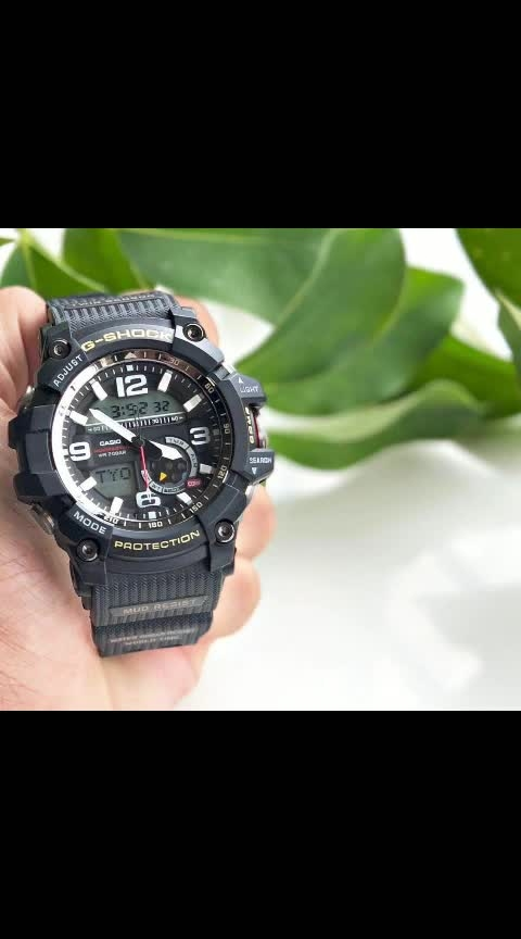 * G-Shock * Ga-1000 * For men * 7A   * Orginal model  * Features-  -day,date, alarm,  -analog -digital -Mineral glass -Mud Resistant -Digital compass  *LED Light  *  •World Time 31 times zones (48 cities + UTC), daylight saving on/off, home city and world time swapping  • 5 Daily Alarms and 1 Snooze Alarm  •Full Auto-Calendar (pre-programmed until the year 2099) 12/24 Hour Formats Accuracy: +/- 15 seconds per month  •Battery:  SR927W x 2Approx. battery life: 2 years   *Price -2250/-Free ship*   🆓 *With OG Tin box * 🆓  *New in stock🔥*..c LM 9501023209
