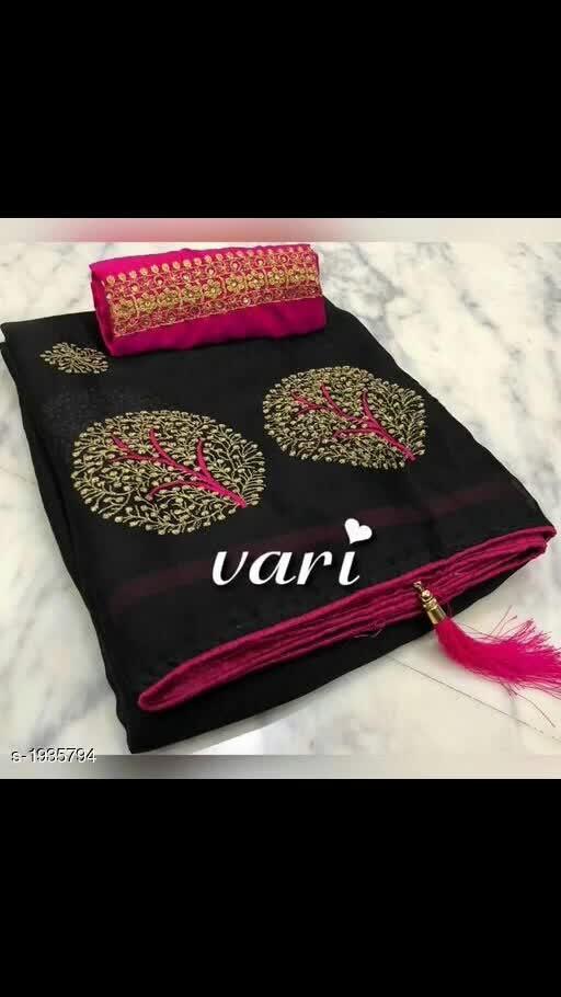 Chiffon sarees @850
