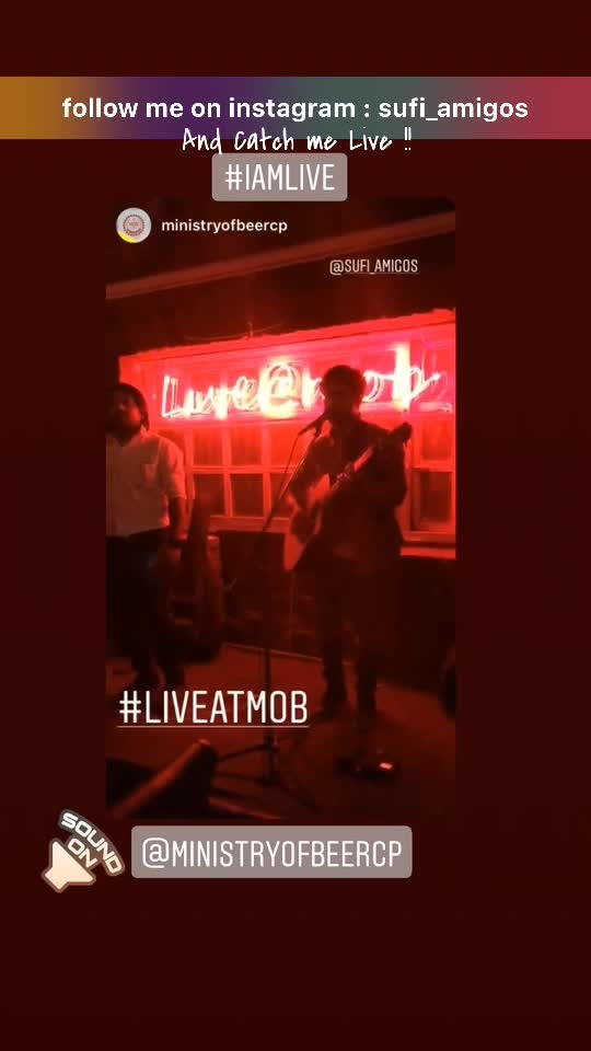 #sufiamigos  #live #instagram #nightlife #concerts #roposo #risingstarschannel #roposo-beats