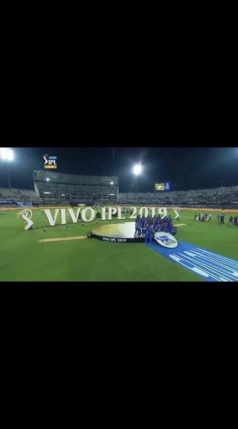 #vivoipl2019  #champions @mumbai indians