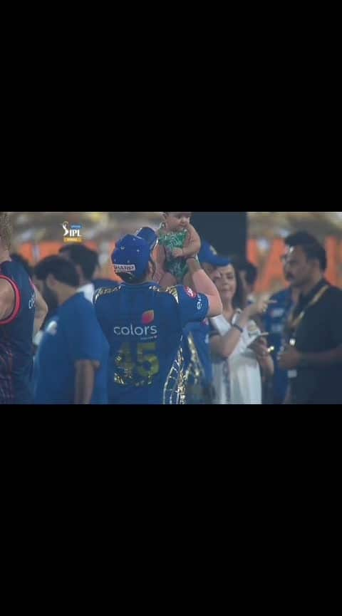 """Every daughter first love is """"DADDY""""❣️❣️ #daughter-dad #mumbaiindians #ipl-2019"""