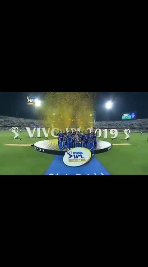 Mi win ipl 2019 title #ipl-2019