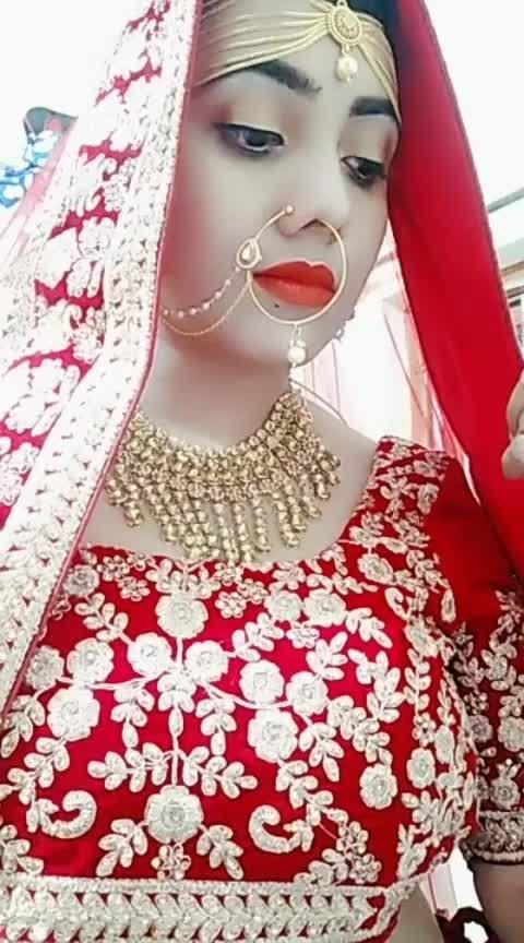#bridestyle  #roposo-dulhan  #beauty dekhlo piyar ho jayega