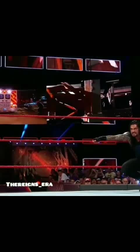 #wwe #roposo #followme #roman #reigns #big_dog #spear #raw #fight #smackdownlive