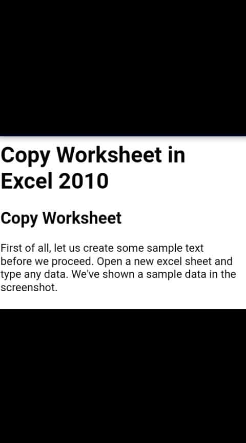 Create duplicate worksheet in same workbook  #excelknowledge #excel  key Alt H O M then alt+c & ok  Please follow And share