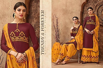 MAHIKAA COLLECTIONS LAUNCHES online selling of WOMEN FABRICS. Please click on picture or our online link below or BUY DIRECTLY FROM US USING PAYTM / BANK TRANSFER CONNECT WITH US AT info@mahikaa.in or whatsapp : 7984456745  COTTON EMBROIDERED TOP WITH COTTON WORK BOTTOM & WORK DUPATTA  #saree #sareelove #sarees #fashion #sareeblouse #indianwear #onlineshopping #love #sari #indianfashion #indianwedding #handloom #sareefashion #ethnicwear #indian #sareeindia #traditional #india #lehenga #silksaree #sareesofinstagram #wedding #cottonsaree #silk #indiansaree #style #silksarees #kanchipuram #designersaree