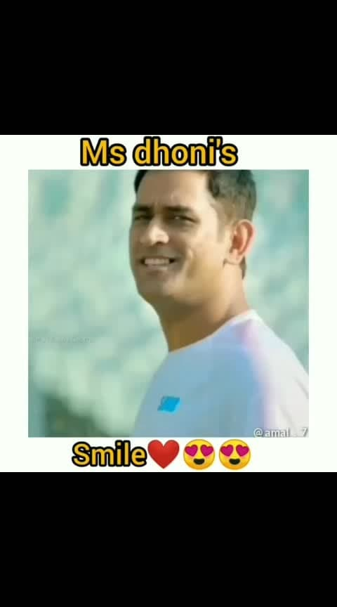 #msdhoni #smilez #csk #indian