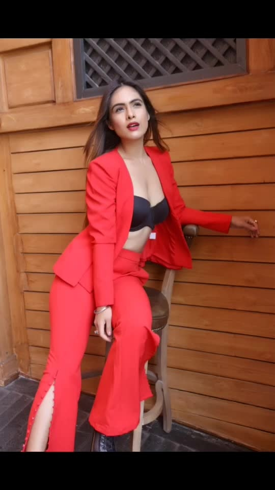 "Red Hot 🥰🥰♥️♥️♥️ : Outfit - @paparazzicloset  Use My code "" NEHA15 ""to get 15% off 🤩here's the link https://appurl.io/jlkjf4cr 😍 : Shoot location- @barrelmansion  Makeup and Hair @makeupbysanjam_ : : #redhot #merewalisardarni #redsuit #shoot #barrelmansion #formalsuit #suitstyle #photoshoot  #sexy #hotdress #stylish #fashionblogger #fashioninsta #paparazzicloset #sakhiyaangirl #fashionblog  #mumbai #boldandbeautiful #bossbabe #nehamalik #model #actor #blogger #instagram #instagood #instalike"