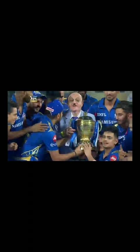 #winning moment of Mumbai Indians 2019