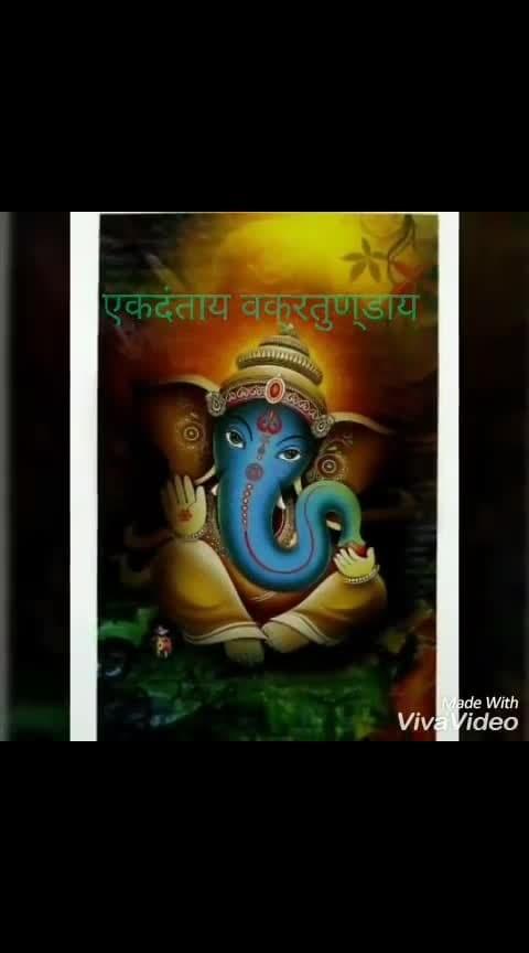 🙏 Ganpati Bappa Moriya 🙏 #bhakti #bhakti-tv #bhaktichannel #roposo-bhakti #ropo-bhakti